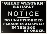 Notice by Order Sign