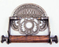 GWR Great Western Railway toilet roll holder.