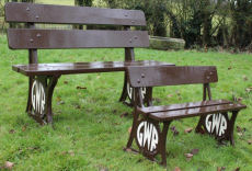GWR Junior size benches or Kit of parts.